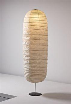 Ellipse Akari floor lamp by Isamu Noguchi