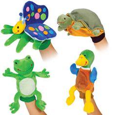 Pond Puppet Glove Set