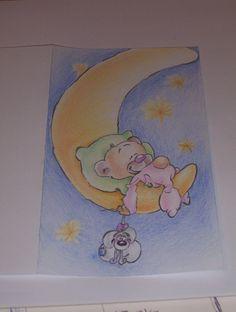 diddle, aquarelpotlood Winnie The Pooh, Disney Characters, Fictional Characters, Art, Winnie The Pooh Ears, Kunst, Pooh Bear, Fantasy Characters, Art Education