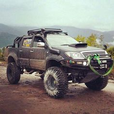 Toyota Hilux off-road - Today Pin Toyota Hilux, Toyota 4x4, Toyota Trucks, Pickup Trucks, Toyota Tundra, Ford Trucks, Ford Gt, Audi Tt, Hilux Mods