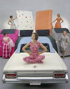 Colorful Convertible Tops for 1961 Buick Electra 225