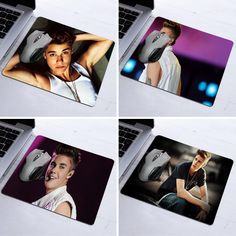 2017 Promotion Mousepad Raton Justin Bieber Colourful Printing Design Arts Desk Pad Silone Gaming Computer Mouse Mat Mice Pads