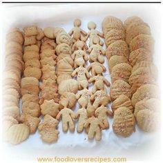 SOETKOEKIES Easy Cookie Recipes, Baking Recipes, Dessert Recipes, Cookie Desserts, Drink Recipes, Easy Recipes, Kos, Biscuit Cookies, Cake Cookies