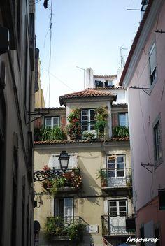Lisbon, Portugal: Street in Bairro Alto