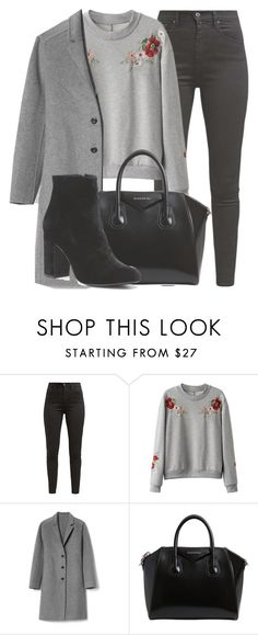 """Outfit #1603"" by lauraandrade98 on Polyvore featuring Levi's, Gap, Givenchy and Witchery"