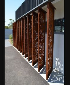 Corten Custom design in Kaffir Leaf Design