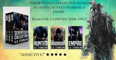 The Seventeen Collection 99 Cent Sale and Giveaway! $50 Amazon Gift Card!  Ends 1/1/22
