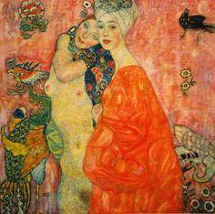 Gustav Klimt - Freundinnen - jetzt bestellen auf kunst-fuer-alle.de