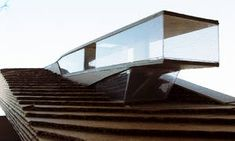 Architektenhäuser & Einreichpläne / Architectural model, cantilevering element