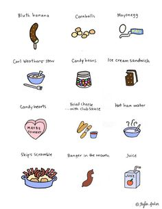 Arrested Development foods.
