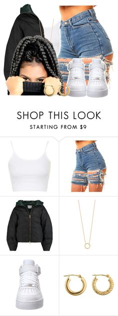 """""""Me no care if him hurt hurt hurtin'"""" by queen-tiller ❤ liked on Polyvore featuring Topshop, Vionnet, Jennifer Zeuner and NIKE"""