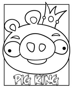 Angry Bird Coloring Pages: I could get my students to achieve any ...