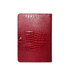 10.1 Crocodile Leather Case Stand Cover for Samsung Galaxy Tab 2 P5100/P5110 - Red US$16.99+free shipping
