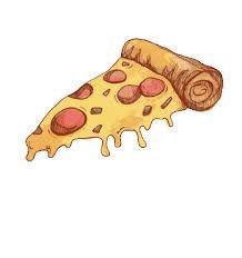 Dessin de pizza  ( ma première épingle :D )