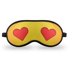 Máscara de Dormir Emoticon Emoji Amor