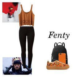 """Fenty By Rihanna"" by ciara81johnson ❤ liked on Polyvore featuring MICHAEL Michael Kors, Valextra, Puma and Dorothy Perkins"