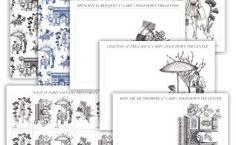 Parisian-Themed Printable Stationery Bundle | The Postman's Knock