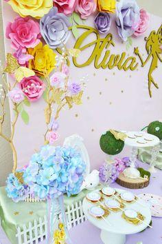 Olivia's Fairy Garden | CatchMyParty.com
