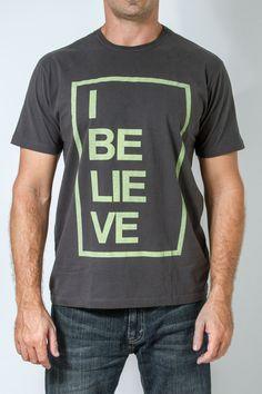 Camiseta gospel masculina - Believe