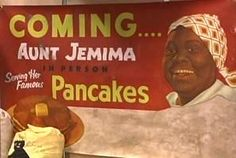 The R.T. Davis company improved the pancake formula, and, more importantly, they developed an advertising plan to use a real person to portray Aunt Jemima. The woman they found to serve as the live model was Nancy Green, who was born a slave in Kentucky in 1834. She impersonated Aunt Jemima until her death in 1923