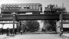 Chicago's elevated train system started 125 years ago