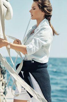 9d43736af03 Alessandra Ambrosio   Eddie Redmayne Celebrate Omega s Seamaster Aqua Terra  Watch 15th Anniversary