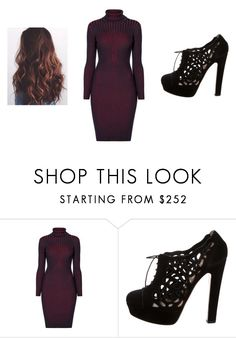 """""""Sleek"""" by autumn-marie27 ❤ liked on Polyvore featuring Rumour London and Valentino"""