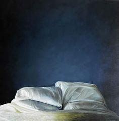 Karen Hollingsworth, Blue , oil on canvas