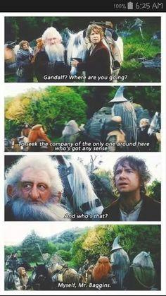 Oooh, Gandalf's gotten a little sassy!