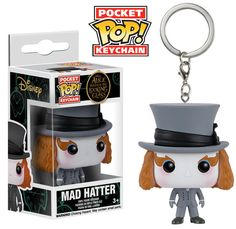 Pocket Pop! Keychain: Alice Through the Looking Glass - Mad Hatter