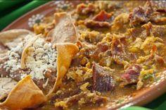 """Michoacan y su riqueza gastronómica fueron pieza clave en el nombramiento que la UNESCO dio a la cocina mexicana. Del libro """"Las Senadoras suelen guisar"""" editado en 1964 les comparto esta receta como la cocinaban en esos tiempos. INGREDIENTES 1/2 kilo de cecina 3 huevos 100 gramos de chile pasilla 1/2 kilo de tomate verde [...]"""