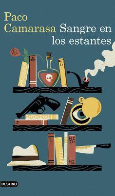 CRUCE DE CABLES: Sangre en los estantes/ Paco Camarasa