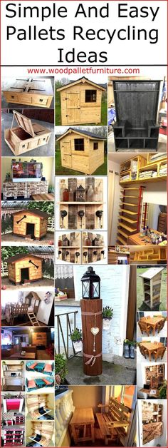 What you will do if you get something to modify and fulfill the need in your home by spending a small amount of money? It is obvious that every person will prefer to go for an option for which he/she has to spend less due to which we never hesitate to collect the wood pallet ideas, so everyone can get the benefit from the pallets. They can be reused once they fulfill their main purpose, here are some simple and easy wood pallet recycling ideas for you to make your home impressive with…