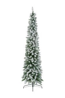 It's great to find a tall (7FT) Christmas tree that's nice and slim. What's more, it's got a gorgeous dusting of snow too.