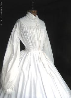 1860's クリノリンドレス・マタニティ No.122078