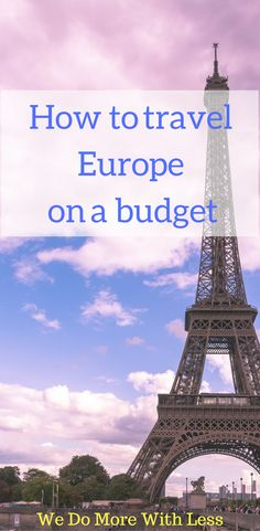 How to travel europe on a budget. Road Trip Packing, Travel Packing, Travel Tips, Travel Destinations, Travel Ideas, Travel Europe Cheap, Europe On A Budget, Budget Travel, Great Ads