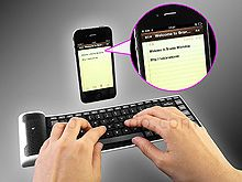 Flexible Bluetooth Mini Keyboard