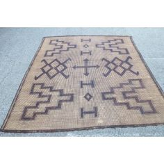 Moroccan  African Touareg Leather Rugs
