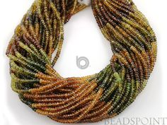 African'' NO TREATMENT'' Multicolored Tourmaline by Beadspoint, $21.99