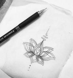 Lotus unalome