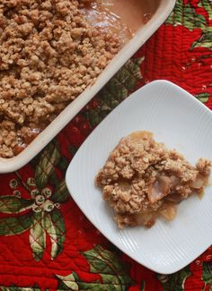 must-make fall recipe: old-fashioned apple crisp | Sugarlaws