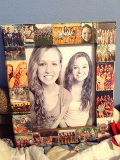 My best friend is so crafty! Best 16th birthday present ever! Thanks love #diy
