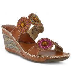 Spring Step Taffy Slide Sandal: Camel