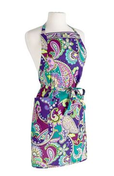 Apron in Heather, $34 | Vera Bradley