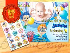Bubble Guppies Invitation Bubble Guppies printable by BogdanDesign