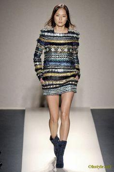 Balmain Fall-Winter Fashion Trends 2012 For Women