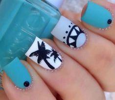 Image via We Heart It #nails #uñas #diseños #desings