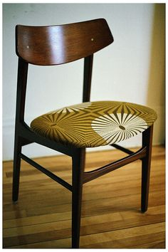 Teak chair by Ole Wanscher and fabricated by P Jeppensen.