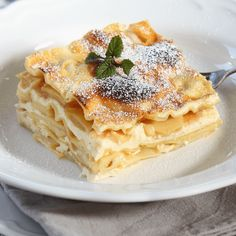 Lasagna Recipe With Ricotta, Lasagna Recipes, Breakfast Recipes, Dessert Recipes, Quick Dessert, Delicious Desserts, Yummy Food, Winter Desserts, Recipe For 4