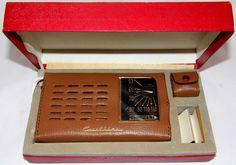https://flic.kr/p/AZqMj4 | Vintage Crestline Transistor Radio (NOS), Model 8T-888, AM Band, Made In Japan, Circa 1960s